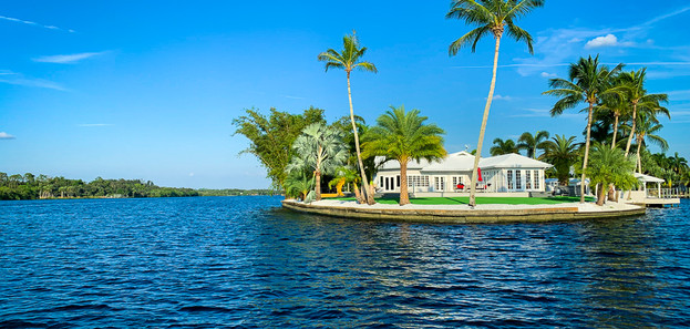 Grace River Island Resort - Resort View.