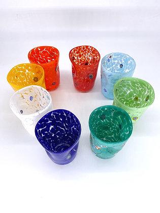 """Bicchieri colorati """"Goto"""" 8 colori set"""