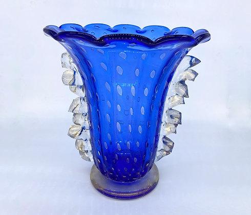 """Cobalt blue Vase """" Venezia"""""""