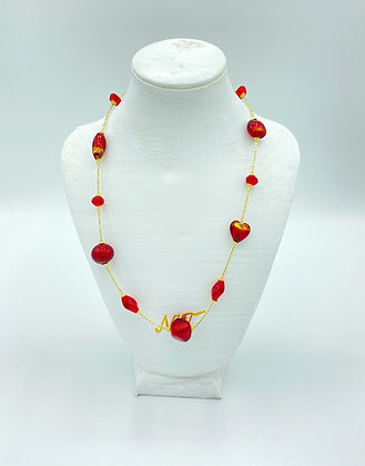 Collana Sophie red