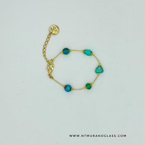 Sophie bracelet emerald