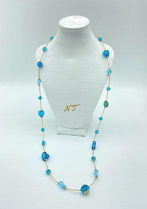 Long Sophie Turcoise necklace