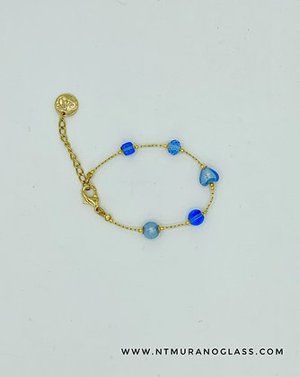 Sophie light blue bracelet
