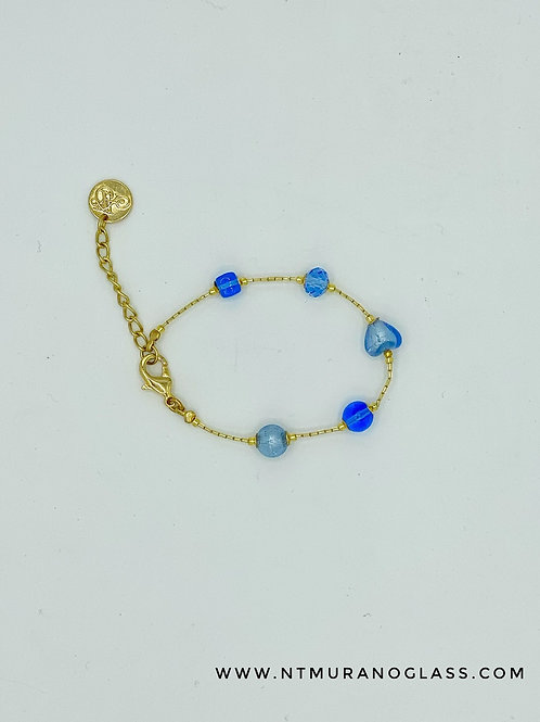 Sophie bracelet light blue
