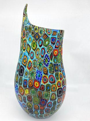 """Exclusive vase """"Millefiori"""""""