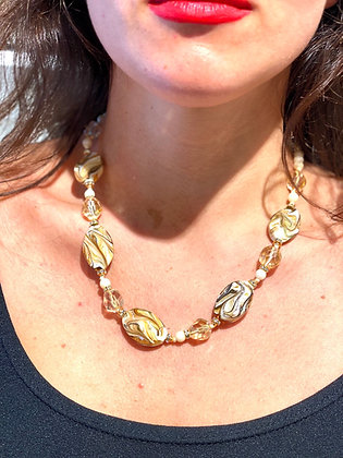 Ivory Venice mother of pearl necklace