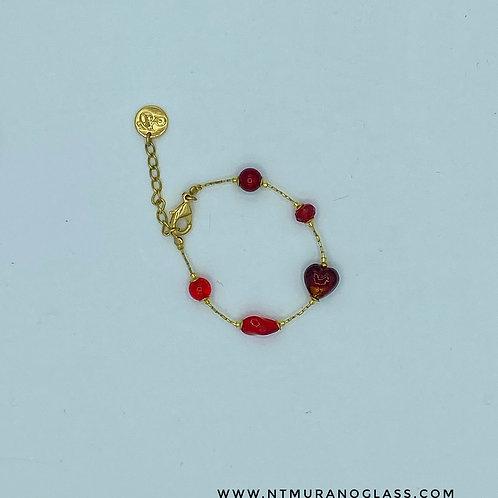 Sophie bracelet red