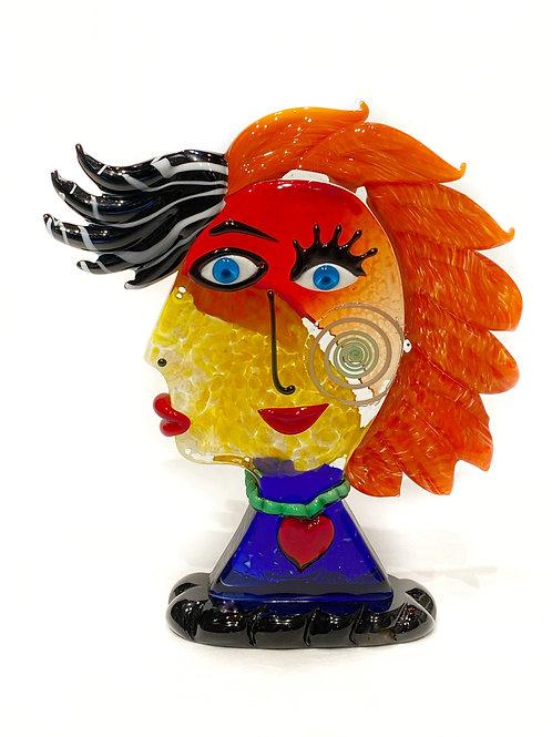 """Picasso Head """"Bella Donna"""""""