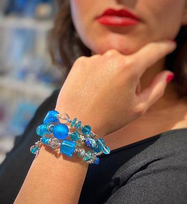 """""""Snake"""" sky bracelet"""