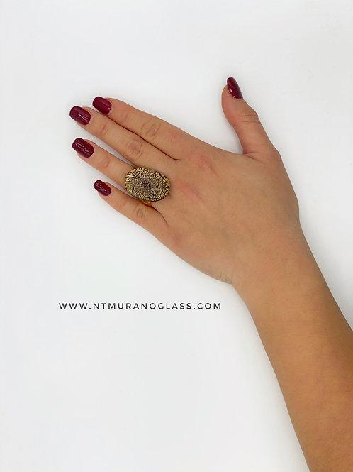 Black & gold  Ring