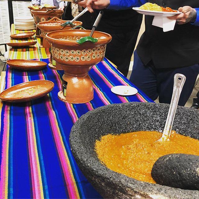Mexican Buffet ( cazuelas ) #cazuelas #molcajete #tropemxfood