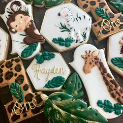 Wild One cookie art. I. Could. Do. This.
