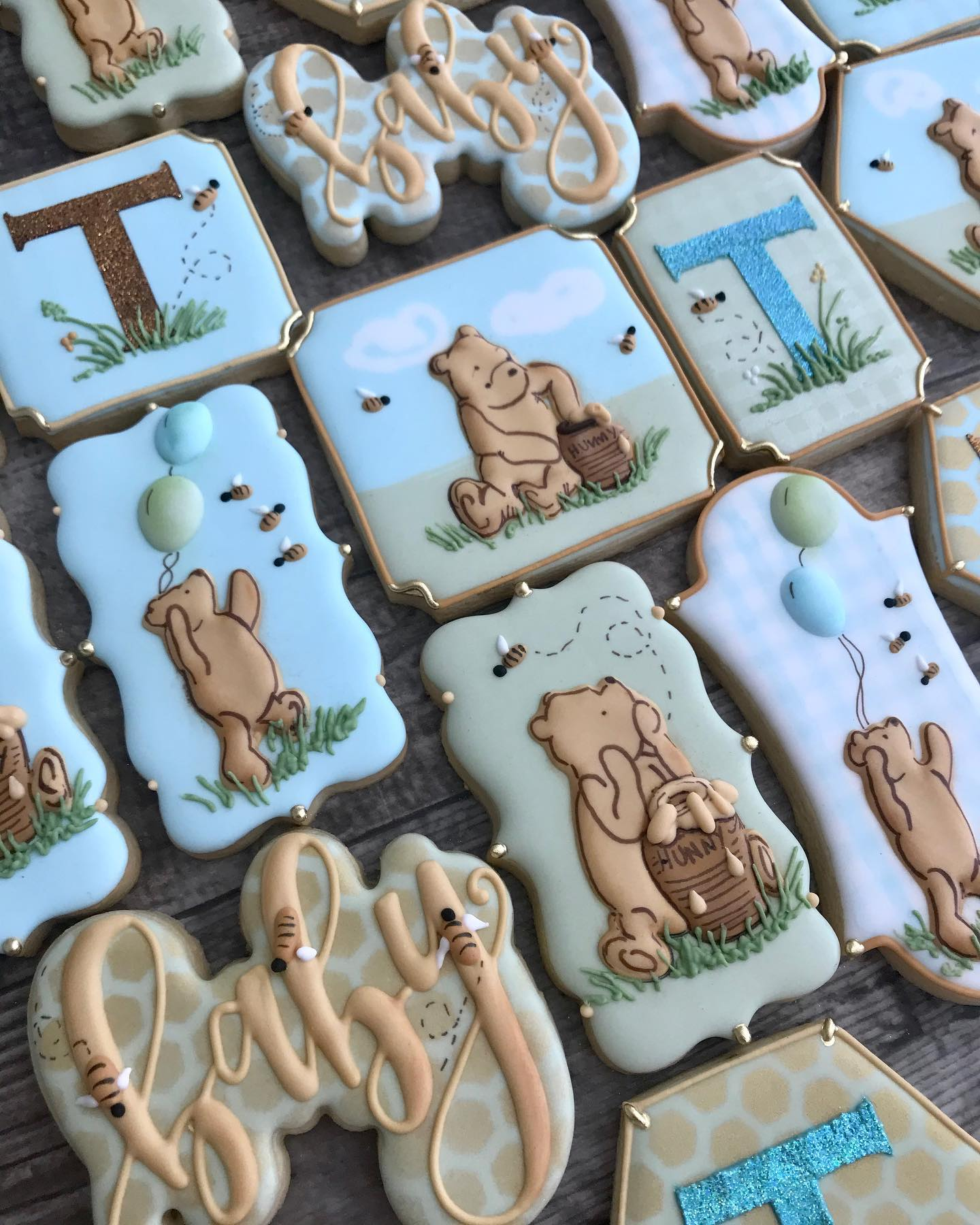 Winnie the Pooh Decorated Cookies