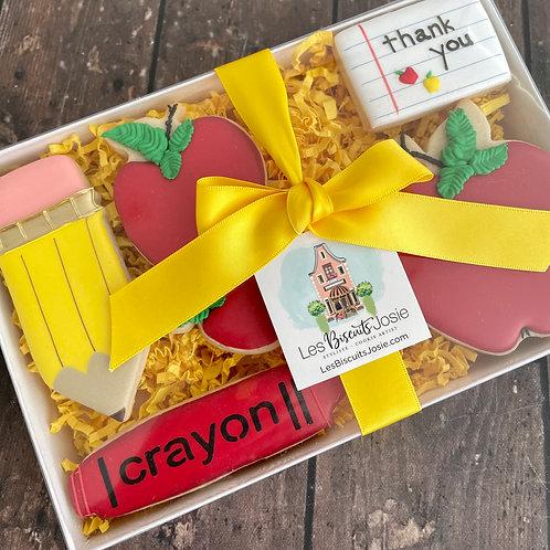 Coffret Pomme et Crayon à Mine - Apple and Pencil Gift Box Set