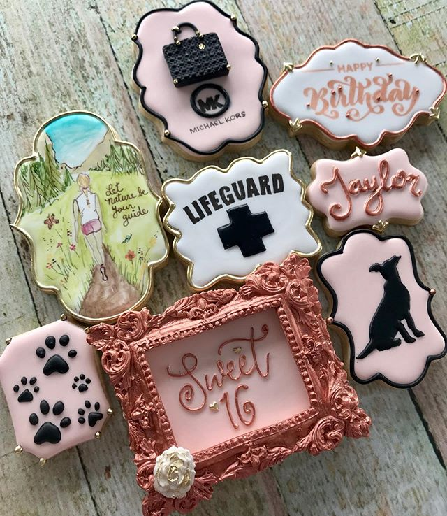 Prestigious Custom Cookie Art Sets are o