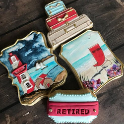 She is RETIRED and off to Maine! ___What