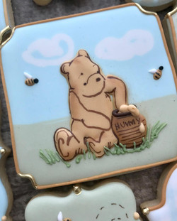 Classic Pooh Decorated Cookies