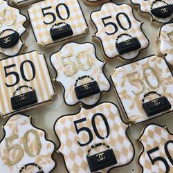 Someone's turning 50 and she's celebrati