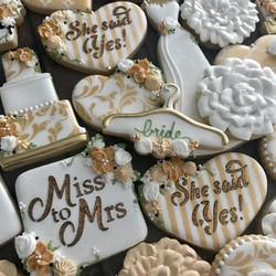 Bridal Shower Decorated Cookies