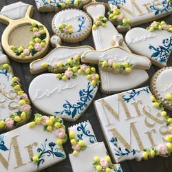 Amalfi Coast Lemon Decorated Cookies