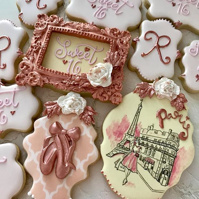 Oh Sweet 16 á la Parisienne! Ooh la la!.