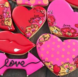Doodle Valentine art. Epic gift!