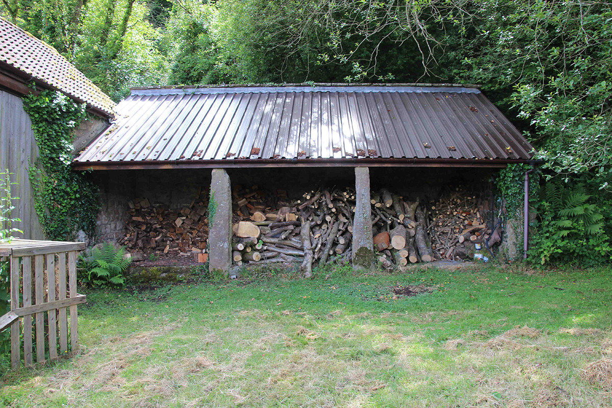 Penallt eco-barn - before