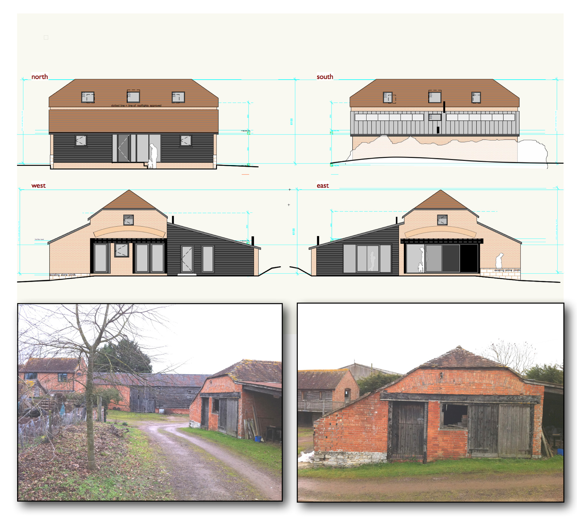 Hartpury eco-barn. 2013