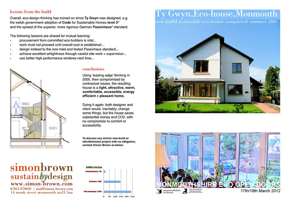Monmouth eco-house