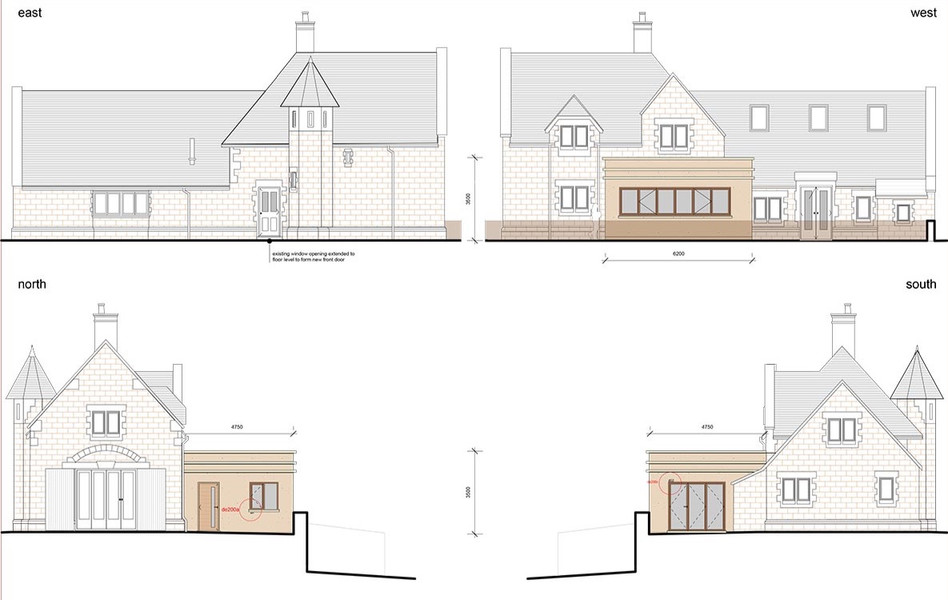 Kitchen extension, Monmouthshire
