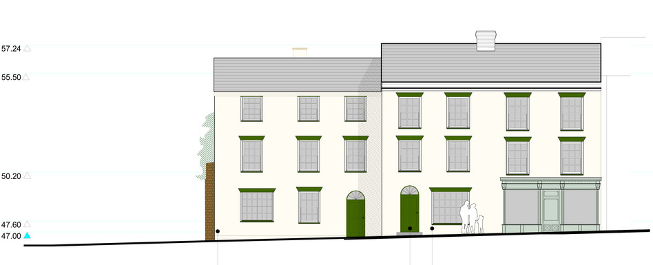 Conservation area work, Coleford, Glos.