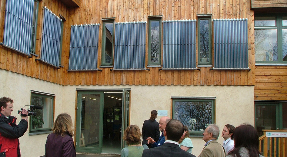 GreenShop, Bisley, 2002, with Architype