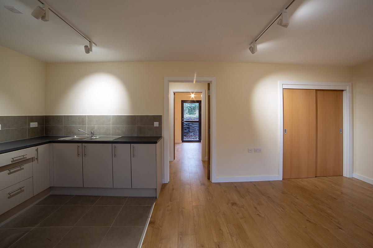 Kitchen/living room of flat