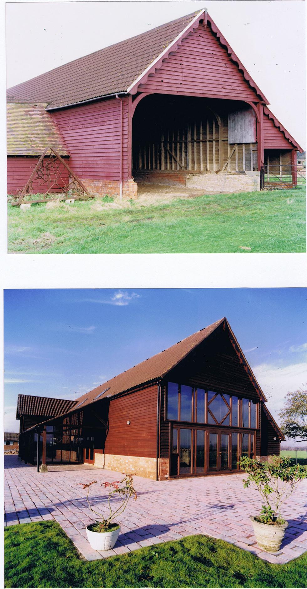 Tibberton eco-barn.1990