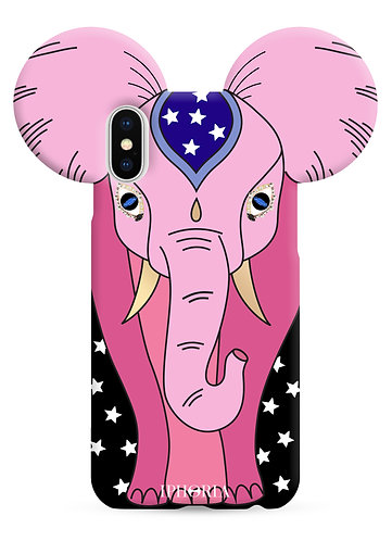 Case for Apple iPhone X/XS - Elephant Pink