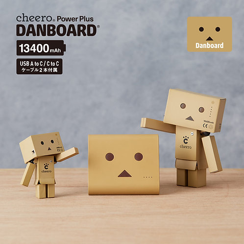 cheero Power Plus Danboard Version 13400 mAh PD 18 W