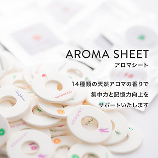 Aroma Sheet (for sleepion 2 & 3)