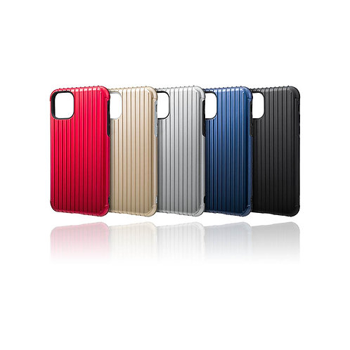 "GRAMAS COLORS ""Rib"" Hybrid Shell Case for iPhone 11"
