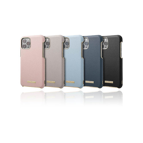 """GRAMAS COLORS """"Shrink"""" PU Leather Shell Case for iPhone 11"""