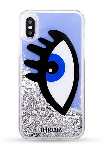 Liquid Case - Blue Eye for iPhone XS max