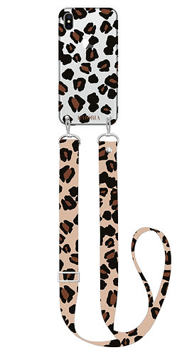 Necklace Case - Leo Strap Leo Transparent for iPhone XS max