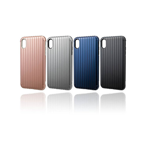 """GRAMAS COLORS """"Rib"""" Hybrid case for iPhone XS Max"""