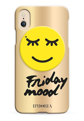 Case with Mirror - Friday Mood for iPhone X / XS