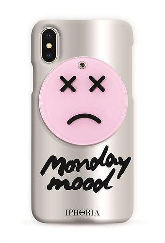 Case with Mirror - Monday Mood for iPhone X / XS