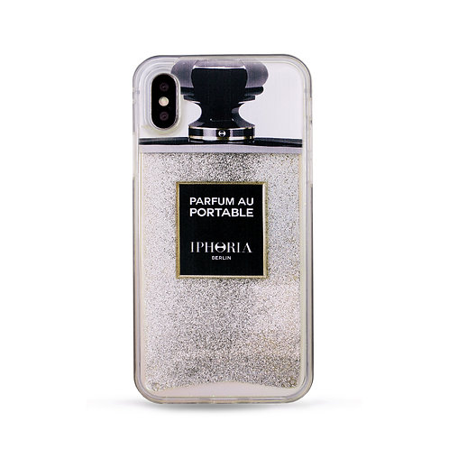 Liquid Case - Silver Glitter for iPhone XS max