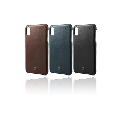 GRAMAS Italian Vachetta Genuine Leather Shell Case for new iPhone XS max