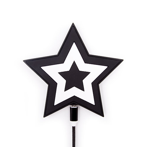 QI Charger wireless - Star Black White