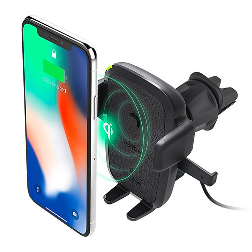 iOttie Easy One Touch Wireless  Fast Charging Air Vent Phone Holder