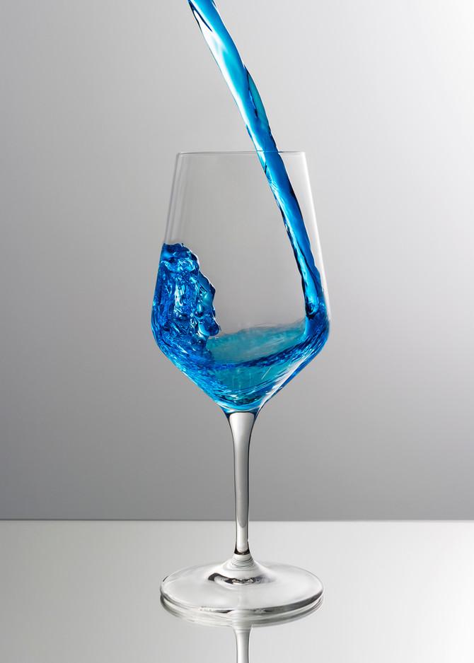 Mais le vin bleu, c'est quoi au fond ?