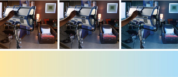 Arri SkyPanel S60-C soft lighting panel colour temperature. To hire at Colour Sound Experiment.